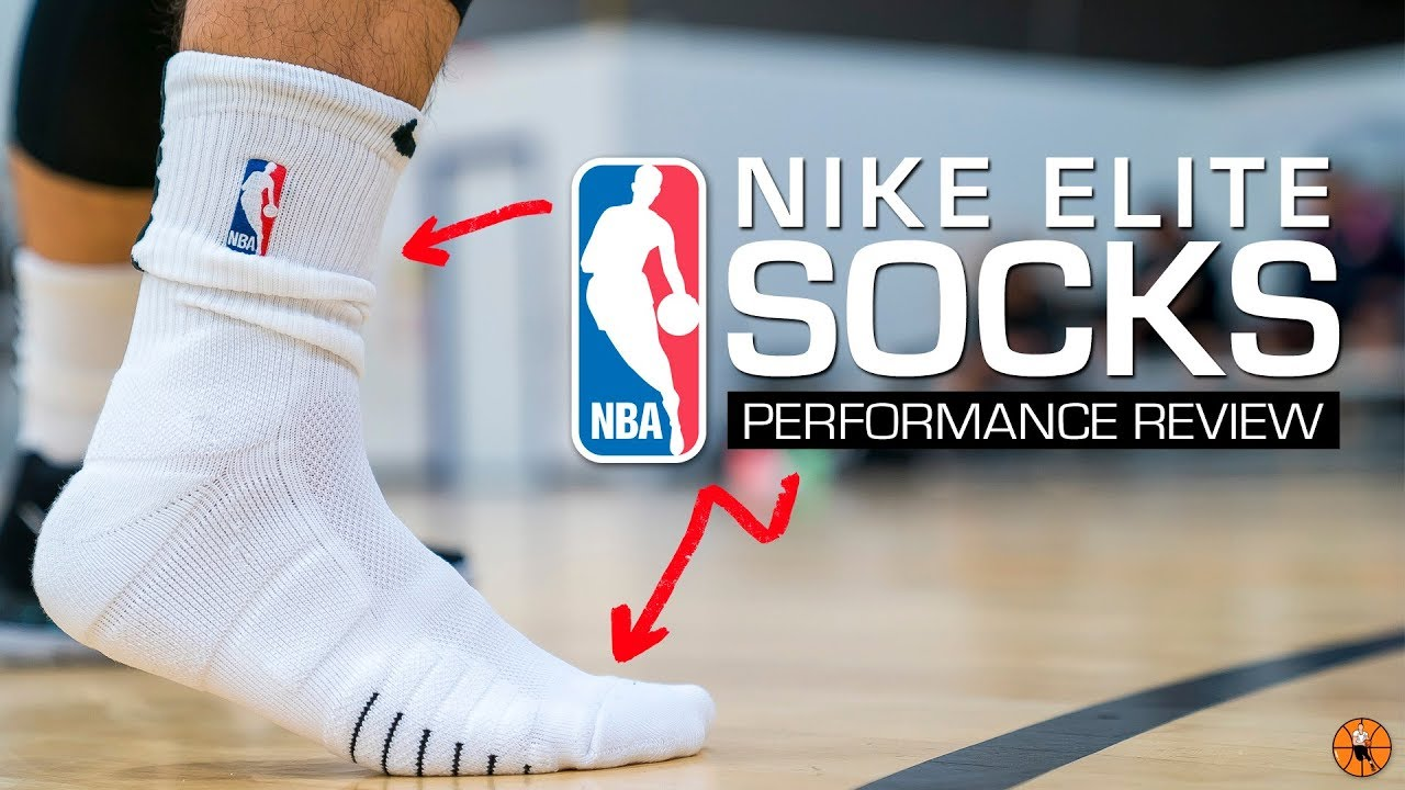 ef31ee07d4e8 Nike NBA Elite Quick Crew Sock - Performance Review - YouTube