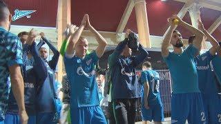 Скрытая камера «Зенит-ТВ»: последние минуты матча против «Динамо»