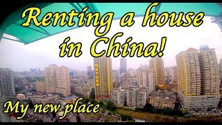 My Chinese apartment tour. Guangzhou apartment hunting.
