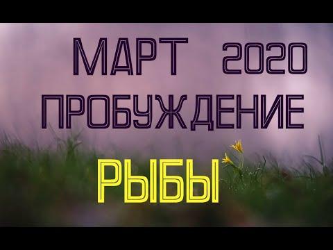 РЫБЫ. МАРТ. Таро-прогноз на март 2020 для Рыб.