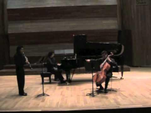 BEETHOVEN: trio op. 38, 1st. mov. (Adagio-Allegro ...