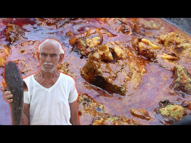 ??? ???? ?????? ???????? ???? ??????   Big Fish Recipe Cooking By Our Grandpa   Chepala Pulusu
