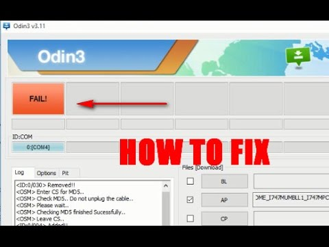 how to fix (Odin 3 12 fail!) samsung firmware flash tools problem and solution (tested