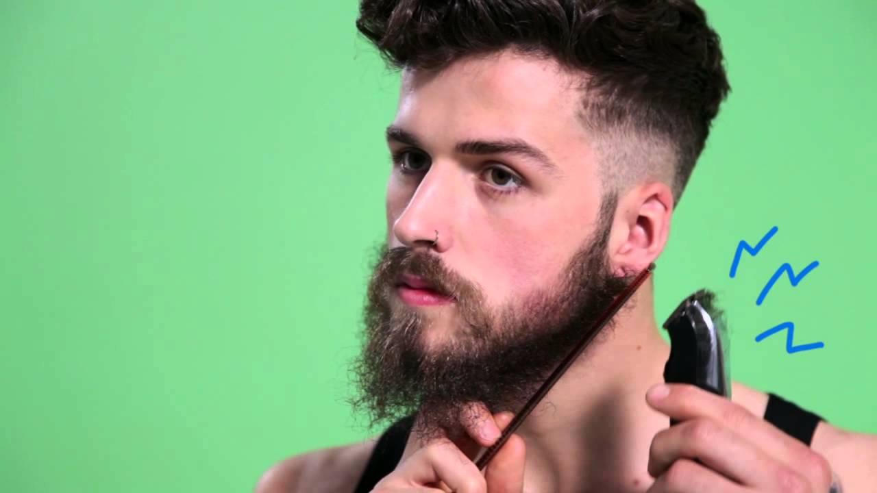 Beard Trimming How To Asos Menswear Grooming Tutorial Youtube