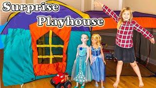 SURPRISE PLAYHOUSE Paw Patrol + Disney Lion Guard + Blaze Surprise ToysToys Tent  Video