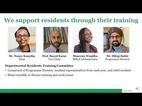 Residency Programme in Internal Medicine at Medical College, East Africa, Nairobi