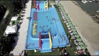 Il nostro super speciale gioco acquatico....#dronemood