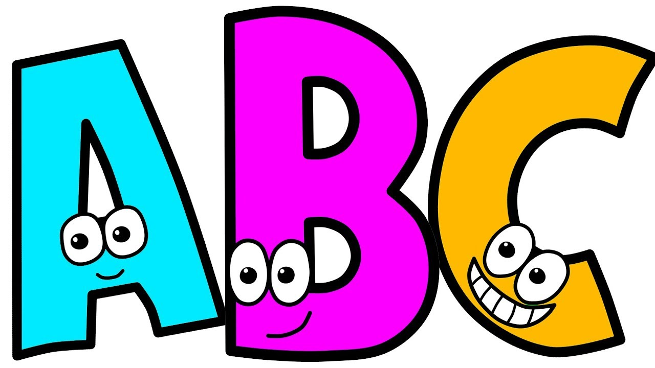 How to Draw & Color Alphabet Letters for Kids. Learn Colors with ...