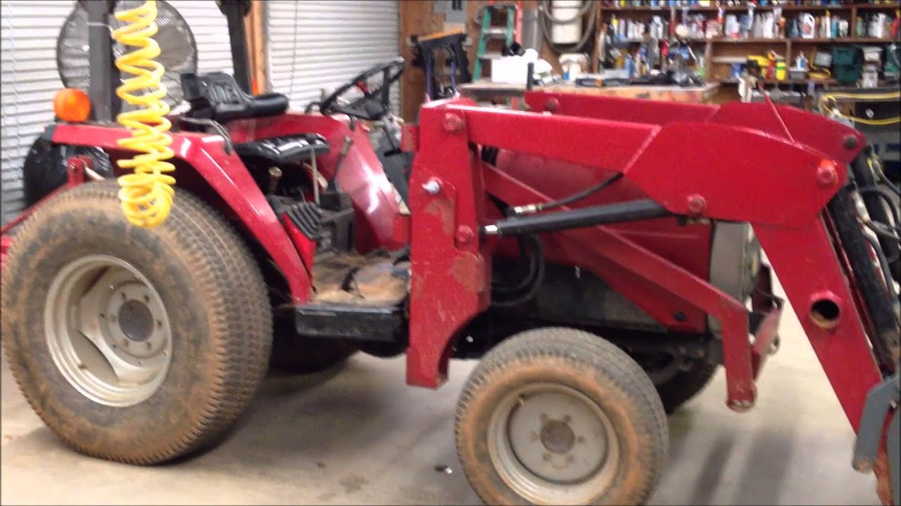 wiring lights on a massey tractor