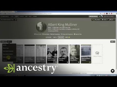 Using Media in Your Ancestry Family Tree