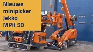 Nieuwe Minipicker Jekko MPK50 van Hoogwerkservice