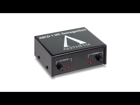 Audio Advisor Review - Musical Surroundings Aesthetix ABCD-1 MC Cartridge Demagnetizer