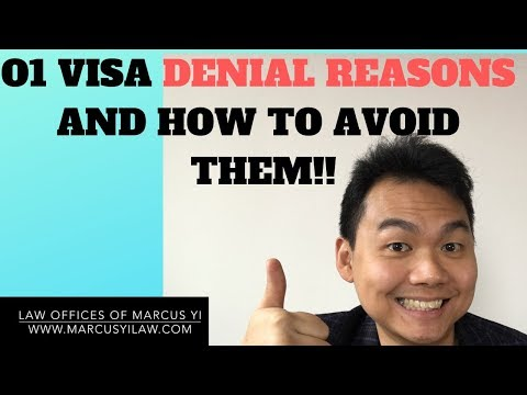 O1 ARTIST VISA TOP DENIAL REASONS AND HOW TO AVOID THEM