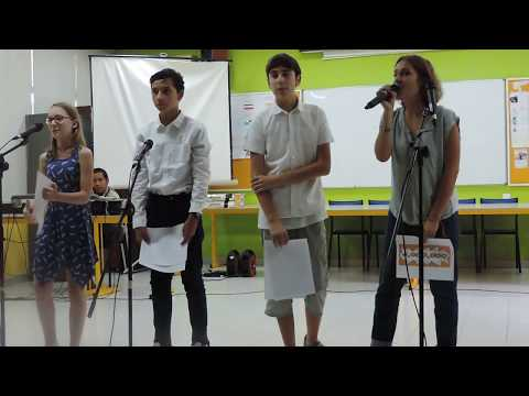 Karaoké des élèves en allemand du LFJ