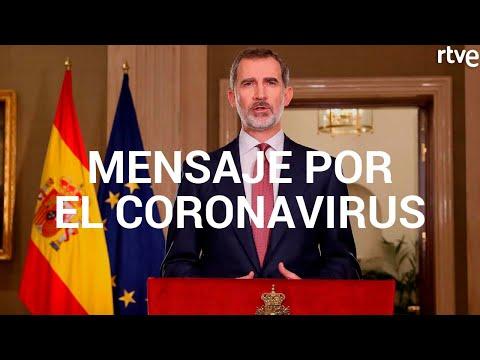 MENSAJE DEL REY FELIPE VI POR EL CORONAVIRUS
