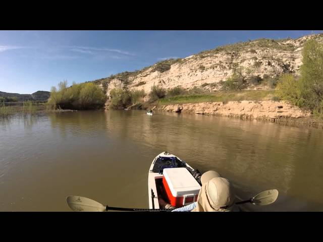 Kayaking from Verde River to Horseshoe Lake with the Ascend H12 Part 1