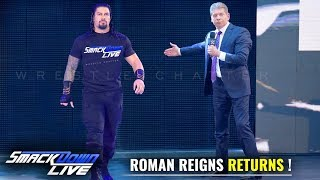 Roman Reigns JOINS & RETURNS to Smackdown Live WWE Smackdown 16 April 2019 Highlights