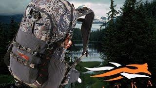Обзор - Sitka flash 20 pack. Охотничий рюкзак для дальних однодневных выходов.