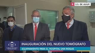EN VIVO | Puesta en función de Nuevo Tomógrafo en Hospital San Roque