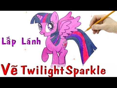 Cch V Pony Lp Lnh Trong My Little Pony How To Draw