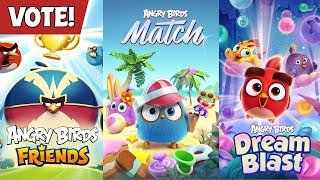 Angry Birds | Vote for your favorite game!