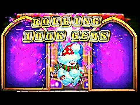 Rolling Over 100,000 Gems!!!