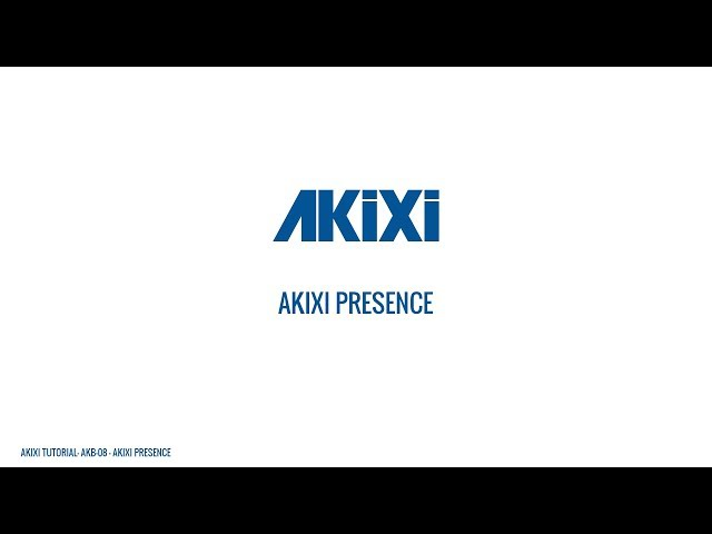 Akixi Presence User Overview - Strategic Call Monitoring