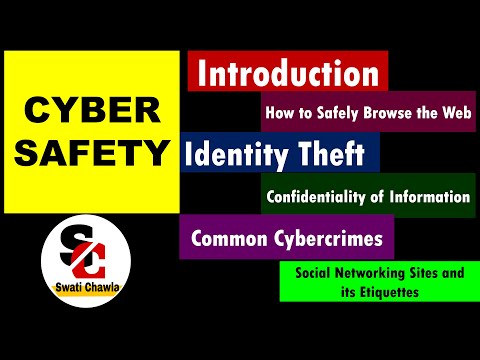 Cyber Safety | Society , Law and Ethics | Class 11 Computer Science with Python