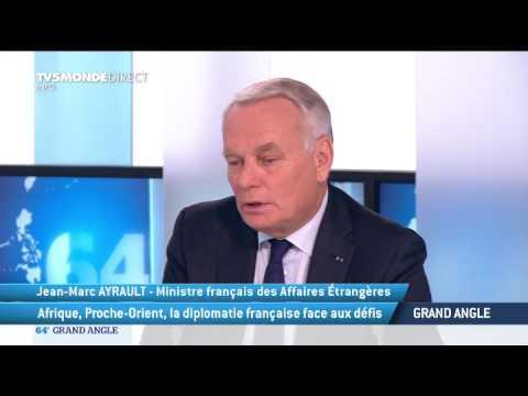 Jean-Marc Ayrault condamne les violences au Gabon