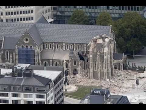 Tribute to Christchurch NZ after 2011 earthquake -...