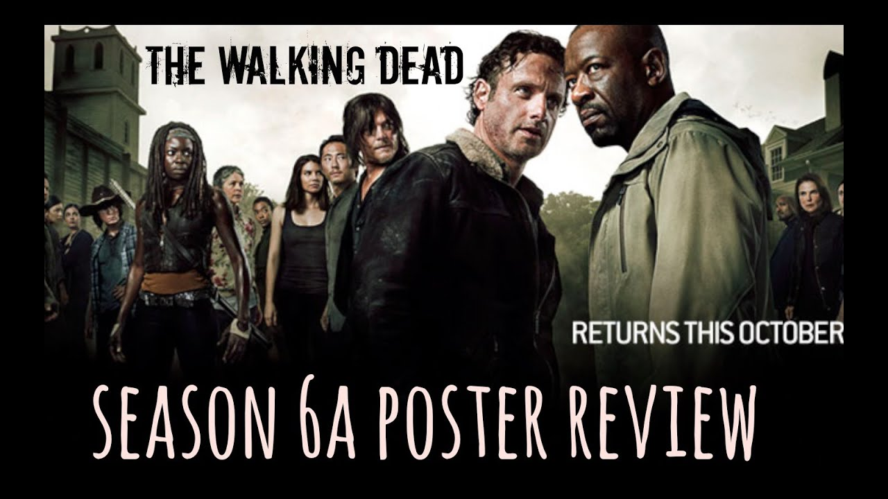 the walking dead season 6 poster review
