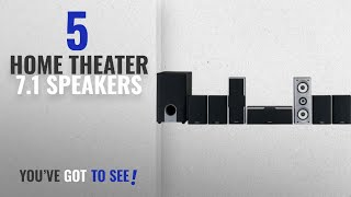 Top 5 Home Theater 7.1 Speakers [2018]: Onkyo SKS-HT540 7.1 Channel Home Theater Speaker System