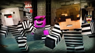 Minecraft Mini-Game: COPS N ROBBERS! (DOUBLE AGENT ROSS AND MAX!) /w Facecam