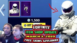 FORTNITE ITEM SHOP UPDATE *EPIC* OVERTAKER, WHITEOUT - MARCH 3, 2019