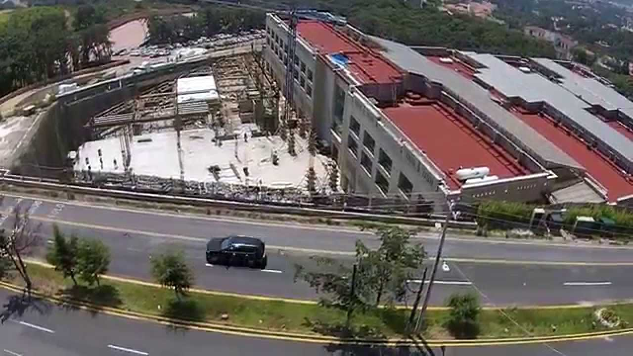 Video dron oficinas en condado de sayavedra atizap n de for Oficinas de youtube mexico