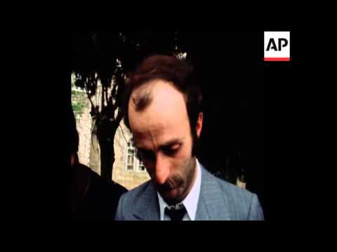 SYND 17 3 77 JUMBLATT'S BODY LYING AT HIS HOME