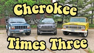 2019 Jeep Cherokee: A retro comparison