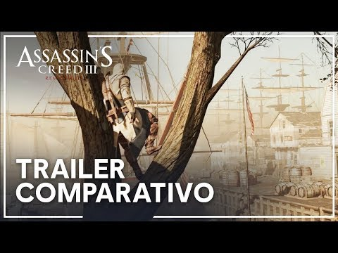Assassin's Creed III Remasterizado - Trailer Comparativo