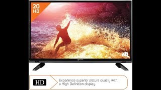 Micromax 50cm (20 inch) HD Ready LED TV (Review)