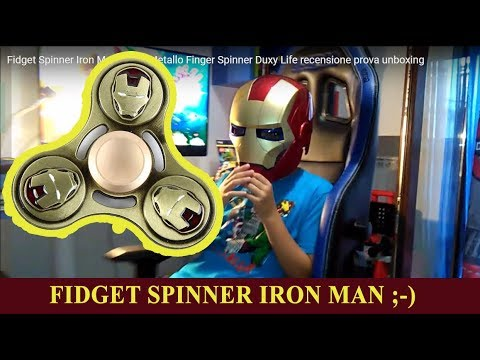 how to open iron man fidget spinner