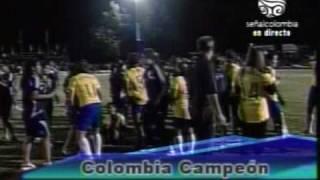 Colombia campeón femenino sudamericano sub 17 2008