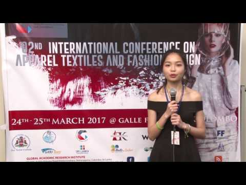 Zhao Chengxi - zh-cn - 02nd International Conference on Apparel Textiles and Fashion Design