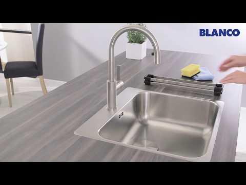 Серия чаш из нержавеющей стали BLANCO SUPRA IF/A