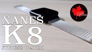 XANES K8 IP67 Waterproof Smart Watch Heart Rate Monitor First Look