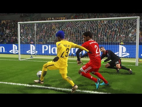 OITAVAS DE FINAL CHAMPIONS LEAGUE PSG VS BAYERN COM NOVO VISUAL - PES 2018 - RUMO AO ESTRELATO #72