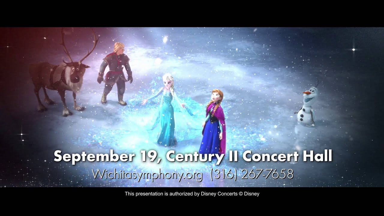 Wichita Symphony Disney In Concert Magical Music From The Movies Youtube