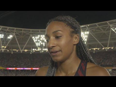 WCH 2017 London - Nafissatou Thiam BEL Heptathlon Day 1