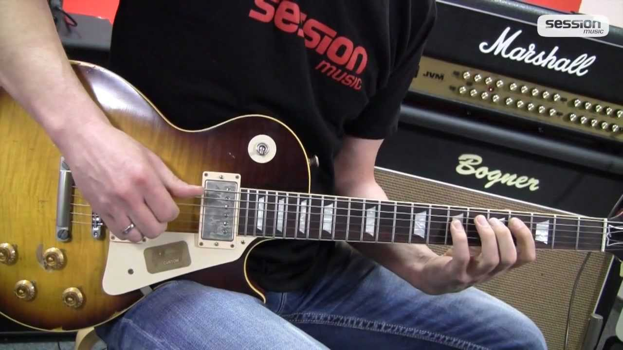gibson les paul 1959 joe perry aged faded tb youtube. Black Bedroom Furniture Sets. Home Design Ideas