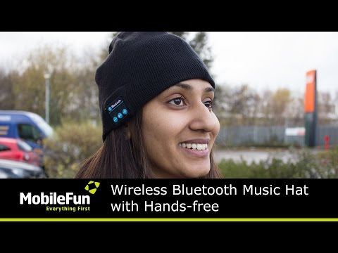 a9240887f Wireless Bluetooth Music Hat with Hands-free - YouTube