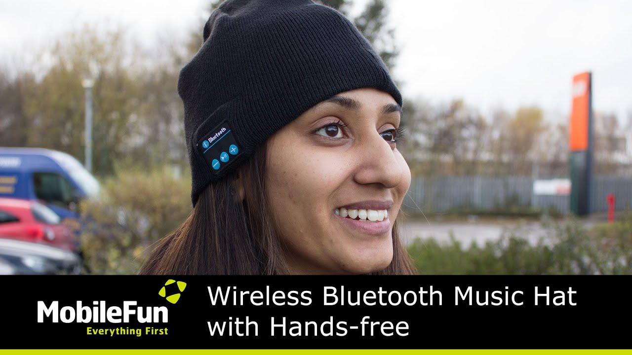 1c3da0933 Wireless Bluetooth Music Hat with Hands-free